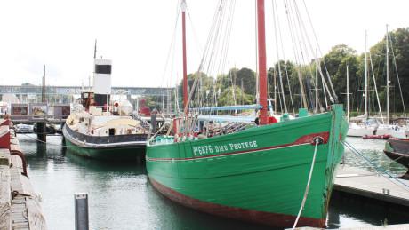 Le Port-musée prend soin de son espace à flot