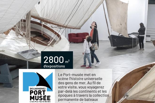 Plaquette Port-musée